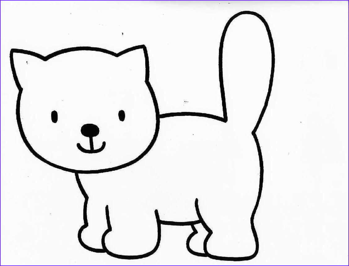 Coloring Picture Of Cats Cool Photography Free Cat Coloring Pages