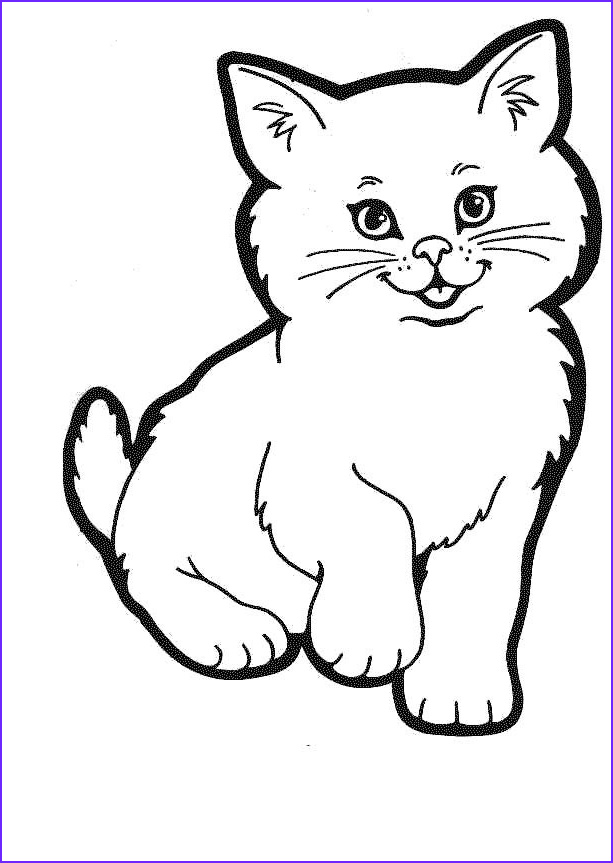 Coloring Picture Of Cats Luxury Gallery Cat Coloring Pages