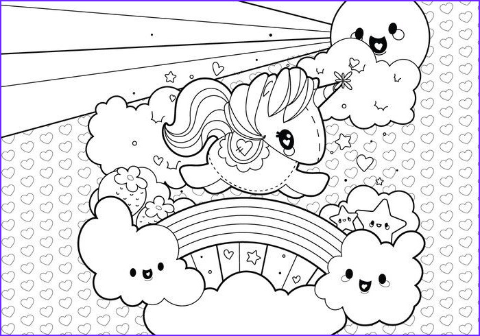 Coloring Picture Of Unicorns Awesome Photos Image Result For Cute Unicorn Coloring Page