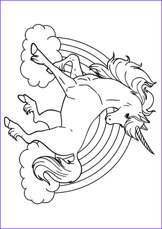 Coloring Picture Of Unicorns Elegant Photos Top 25 Unicorn Coloring Pages For Toddlers