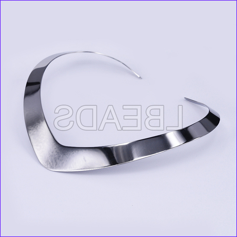 p 304 stainless steel choker necklaces stainless steel color 4 72 x5 04 12x12 8cm