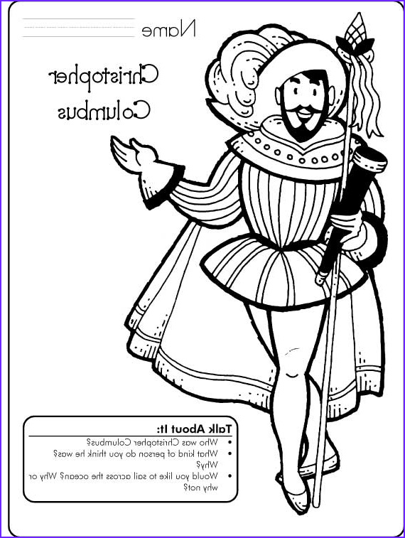 Columbus Coloring Page Best Of Gallery Columbus Day Coloring Pages for Kids Family Holiday
