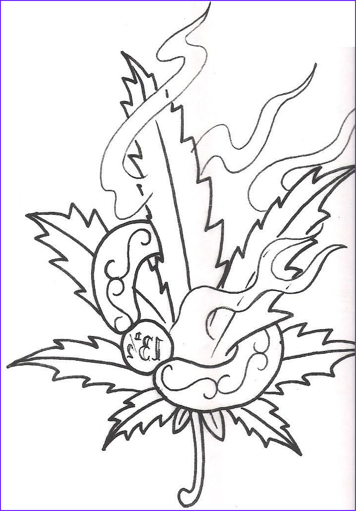 Cool Easy Coloring Page Best Of Gallery Cool Grass Tattoo Designs Stylendesigns