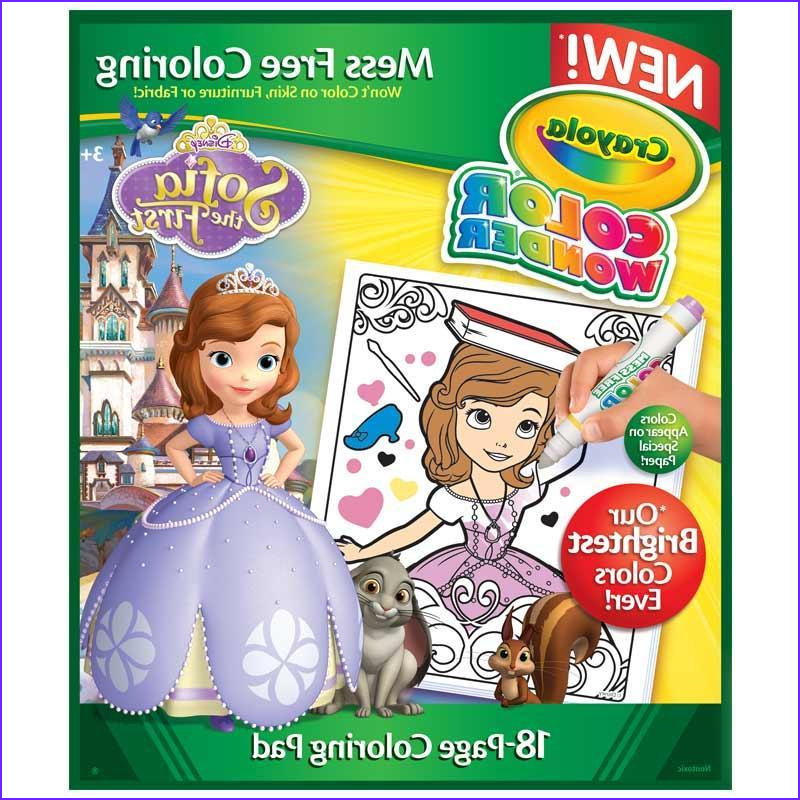 Crayola Mess Free Coloring Cool Stock Amazon Crayola sofia the 1st Color Wonder Refill Book