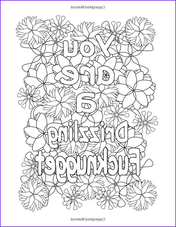 Cursing Adult Coloring Book Cool Photography Amazon I Love to F Cking Color and Relax with My