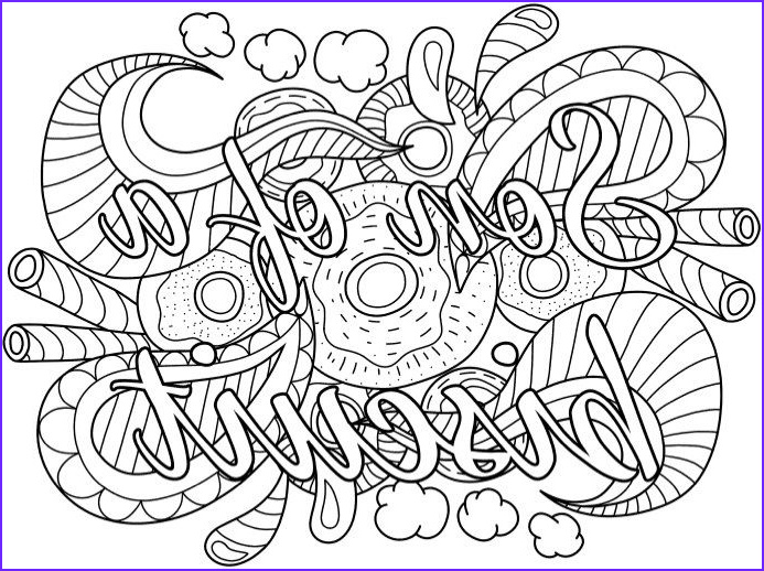 Cursing Adult Coloring Book Inspirational Stock Best Swear Word Coloring Books A Giveaway