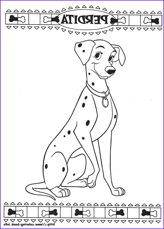 Dalmation Coloring Page Inspirational Images 101 Dalmatians Coloring Picture
