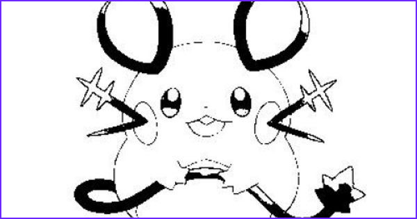 16 beautiful photos of dedenne coloring page