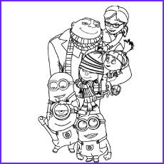 despicable me 2 coloring pages for your naughty kids