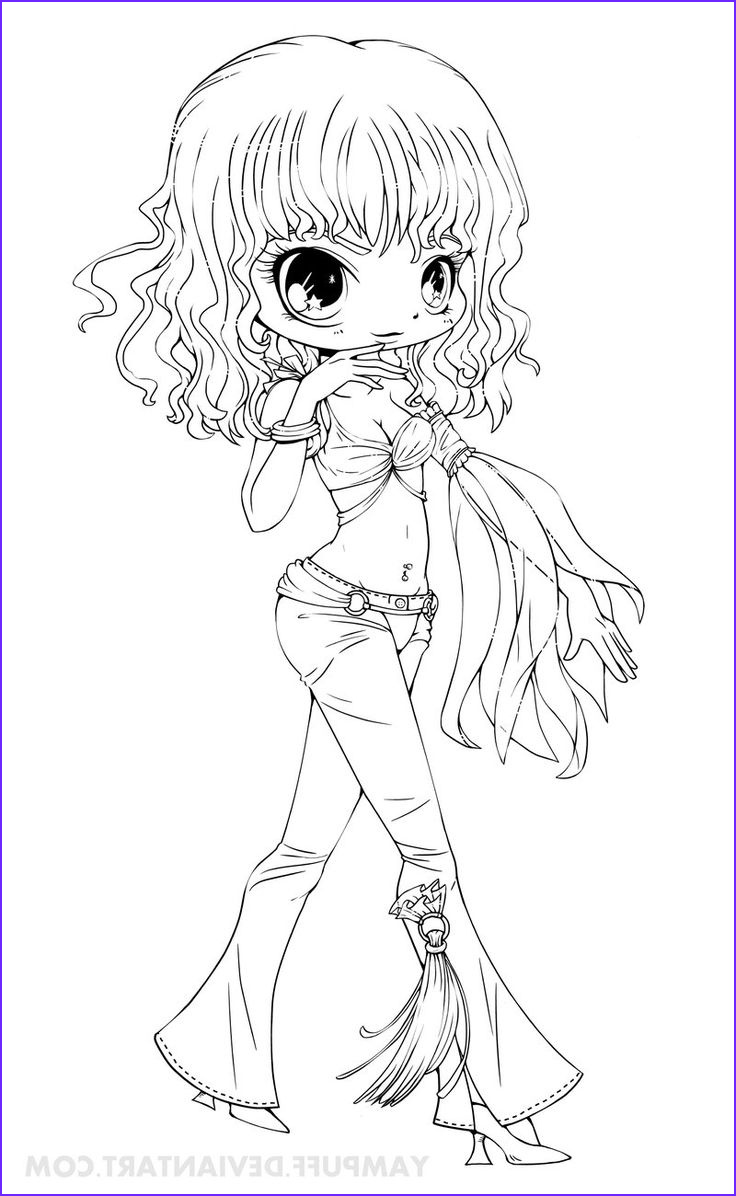 Deviantart Coloring Page Best Of Stock Britney Spears Chibi Lineart Slave 4 U By Yampuff On