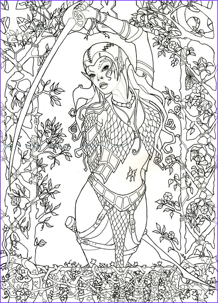 Deviantart Coloring Page Cool Photos Glamourpuss Inks by Mistresselysia Deviantart
