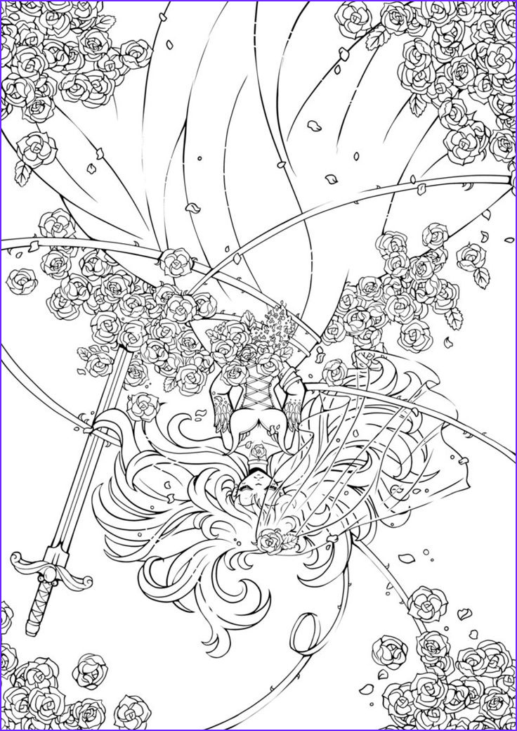 Deviantart Coloring Page Unique Collection Gothic Bride Lineart Thank U 4 200k Faves By Yampuff