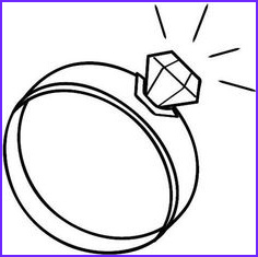 Diamond Ring Coloring Page Inspirational Photos Wedding Diamond Ring Coloring Page