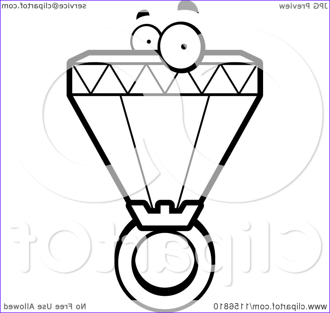 black and white diamond ring character