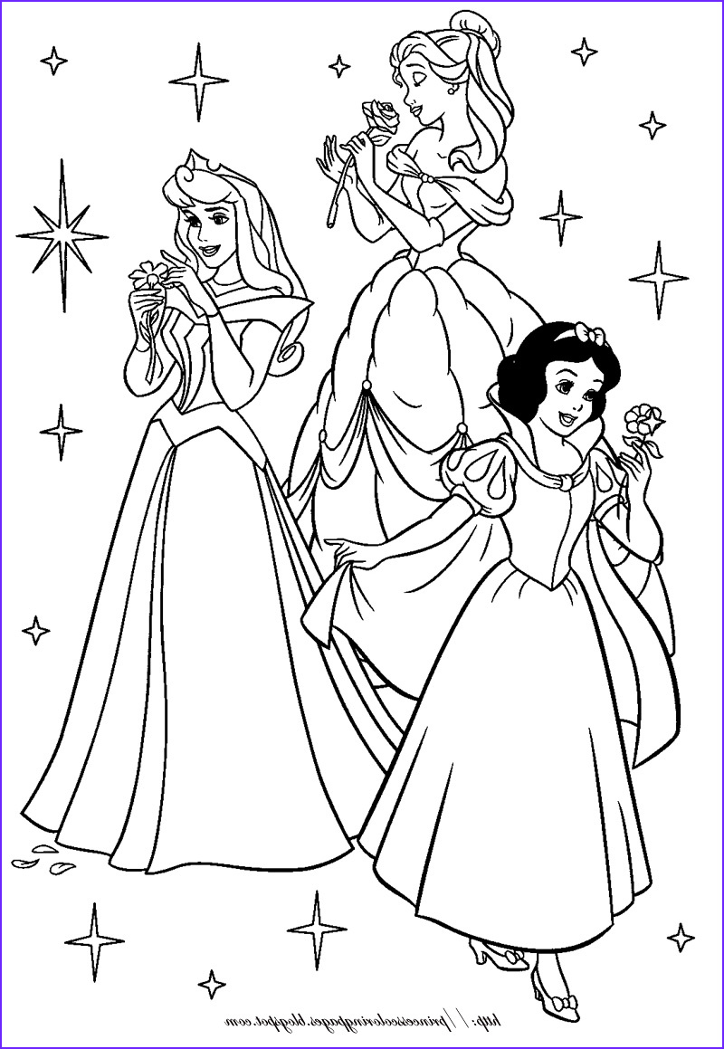 Disney Coloring Picture Awesome Photos Disney Princesses Best Coloring Pages