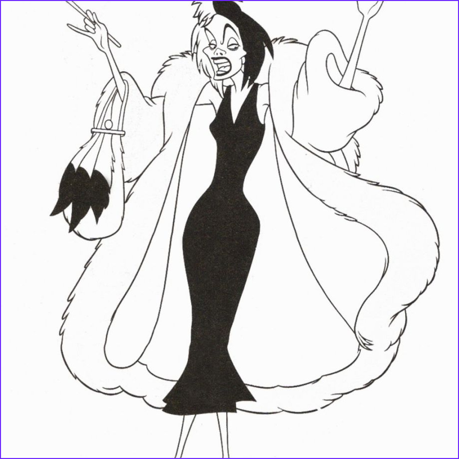 Disney Villains Coloring Best Of Collection Disney Villain Coloring Pages