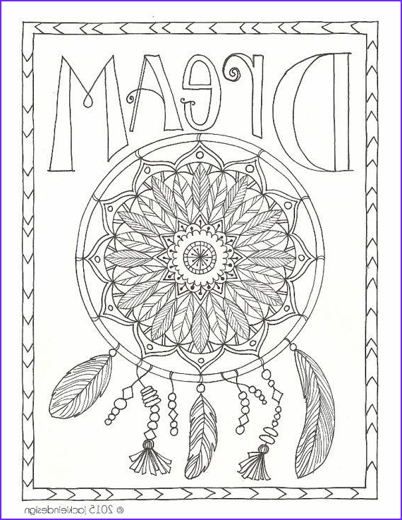 Dream Catcher Adult Coloring Page Beautiful Photos Dream Catcher Coloring Page Dreamcatcher