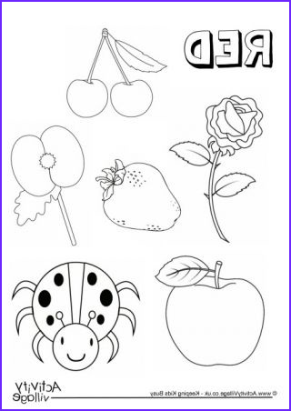 Dtk Coloring Page Elegant Collection Red Things Colouring Page Colors