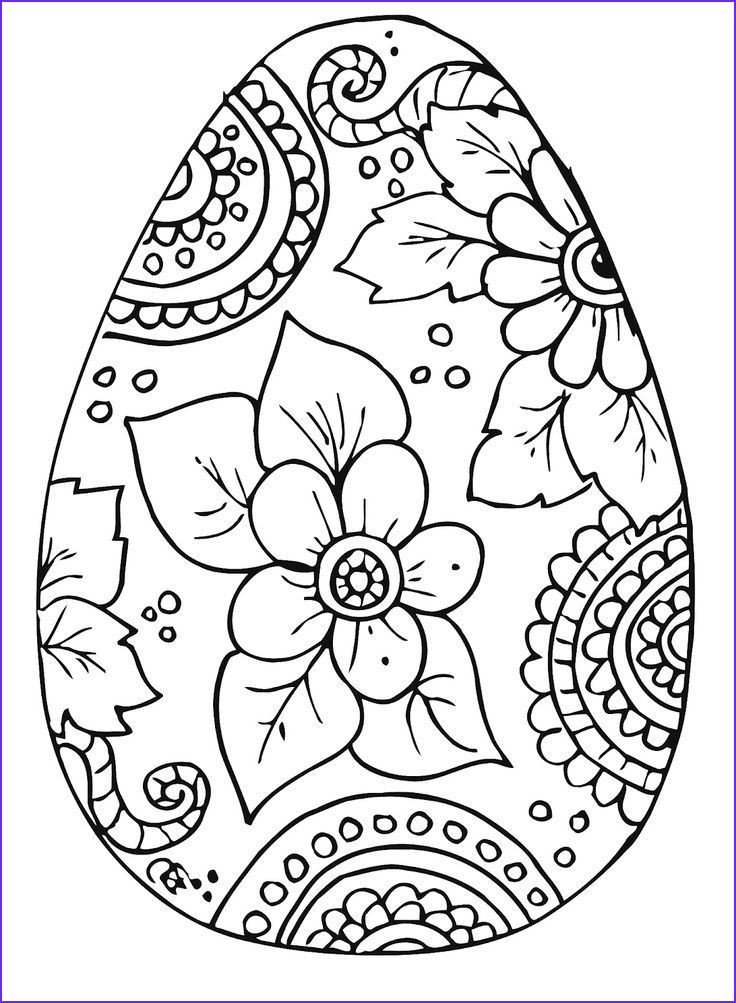 Easter Coloring Printables Free Unique Photos Free Easter Egg Coloring Pages