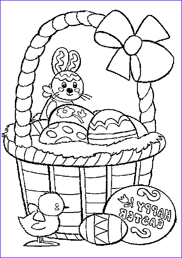 Easter Egg Basket Coloring Page Awesome Photos Top 10 Free Printable Easter Basket Coloring Pages Line