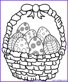 Easter Egg Basket Coloring Page Elegant Photography Easter Egg Basket Coloring Page