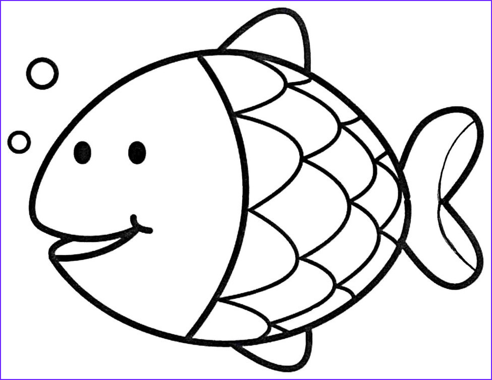 10 Beautiful Stock Of Easy Coloring Page for Kids