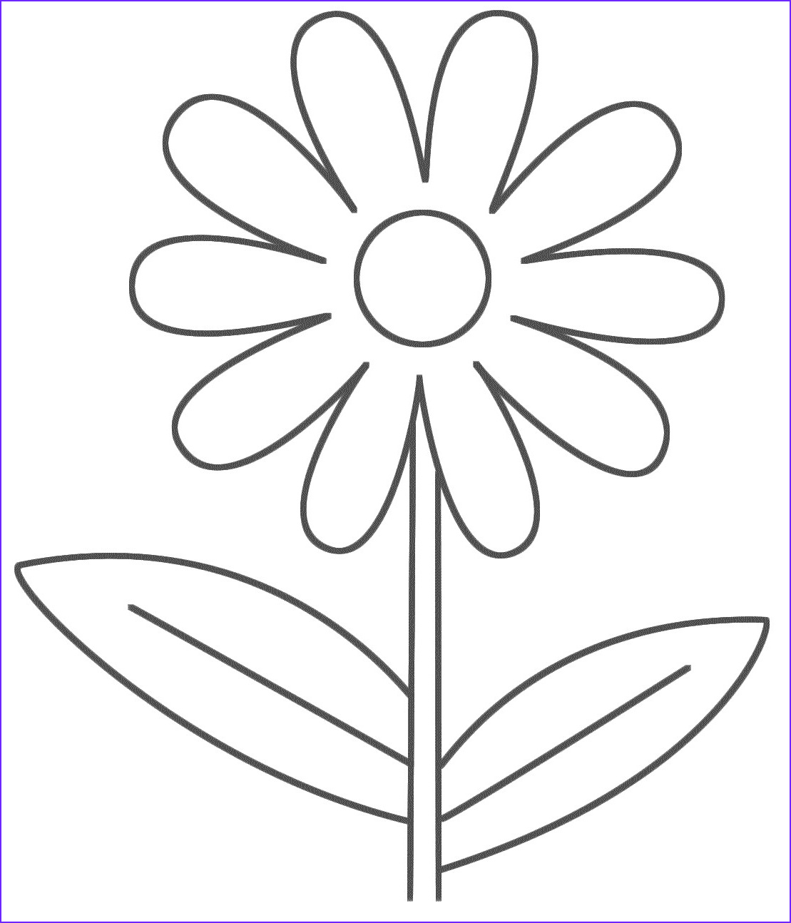 simple coloring pages 5 2