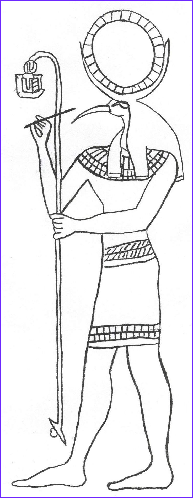 Egyptian Gods Coloring Page Luxury Photos 271 Best Egypt 1 Images On Pinterest