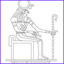 Egyptian Gods Coloring Page New Image Taweret Egyptian Goddess For Kids Coloring Pages