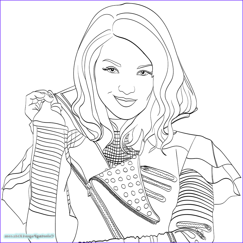 Evie Coloring Page Beautiful Photos Evie Disney Descendants Coloring Pages Coloring Pages