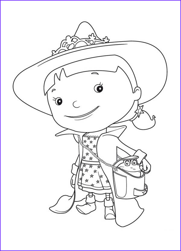 Evie Coloring Page New Photos Evie is On Vacation In Mike the Knight Coloring Page Evie