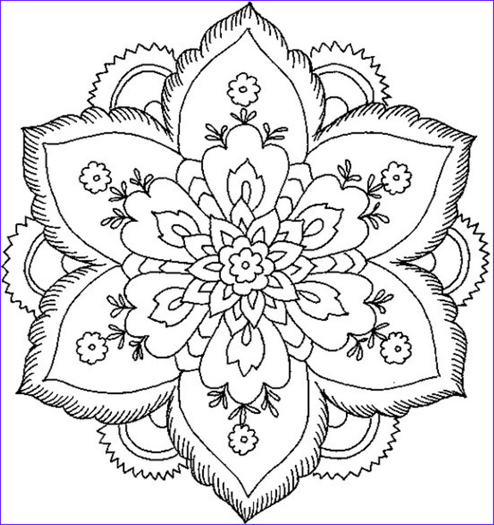 best hd animal mandala coloring pages