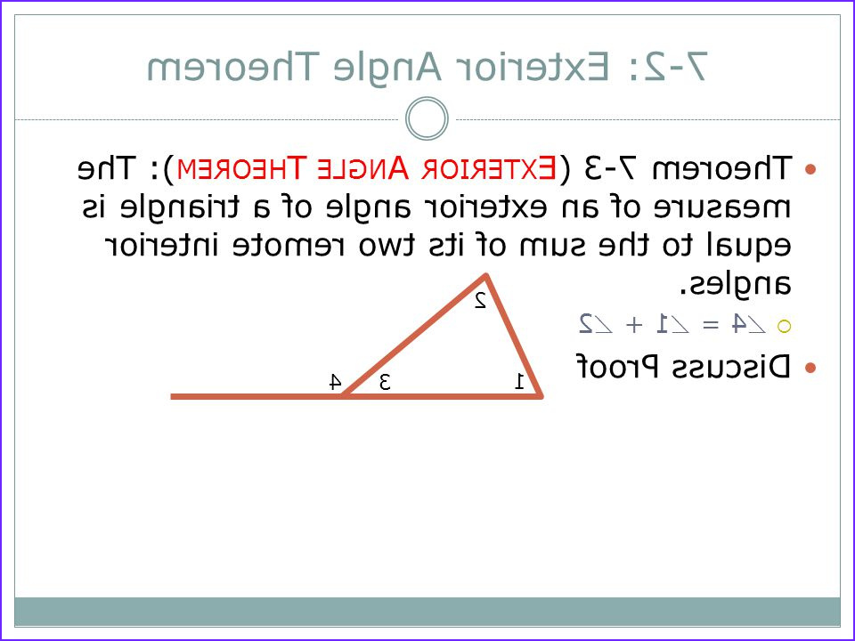 Exterior Angle theorem Coloring Activity Inspirational Collection Remote Interior Angles Home Decor Interior Design and
