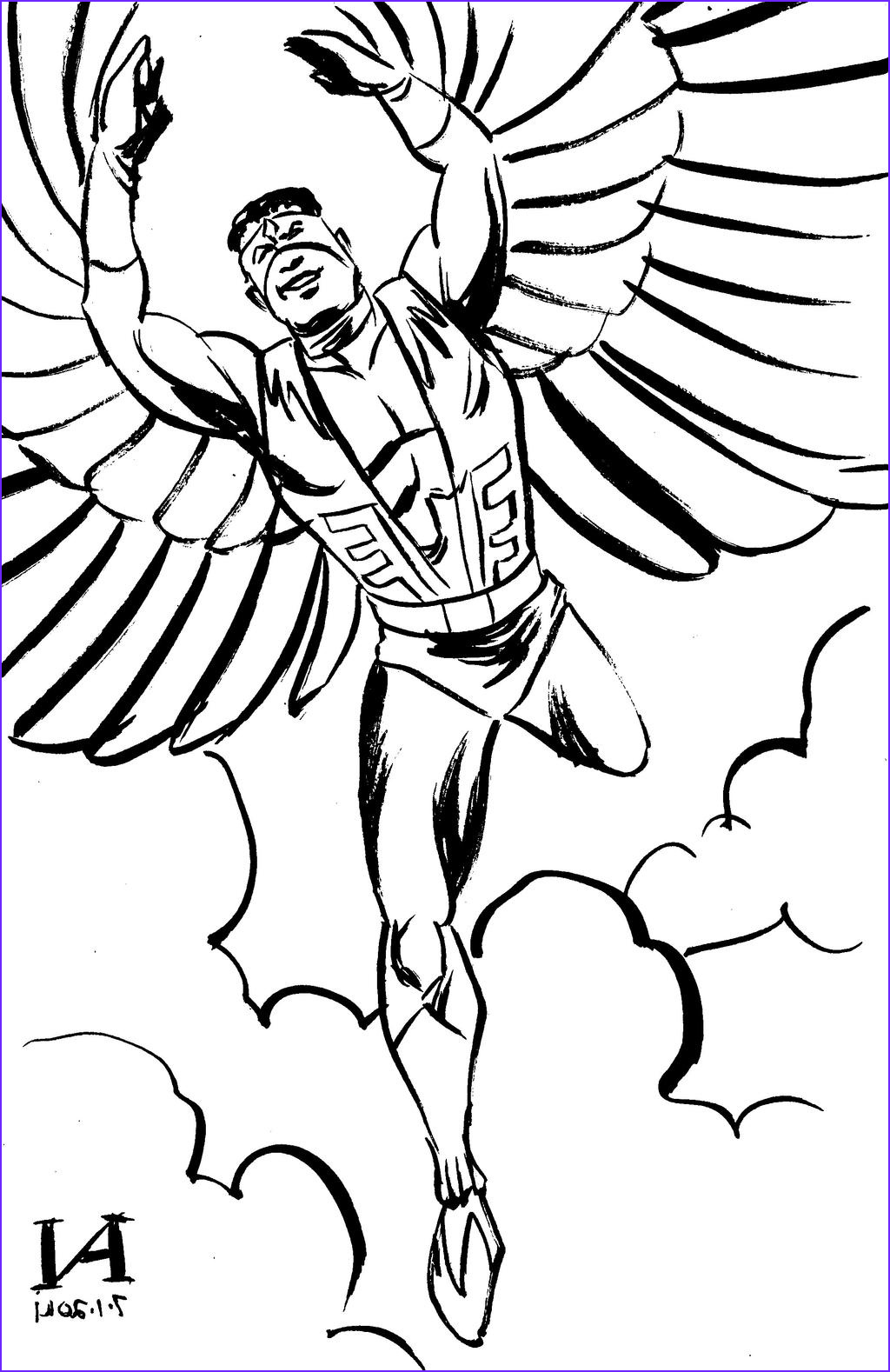 Falcon Coloring Page Inspirational Images Marvel Falcon Coloring Coloring Pages