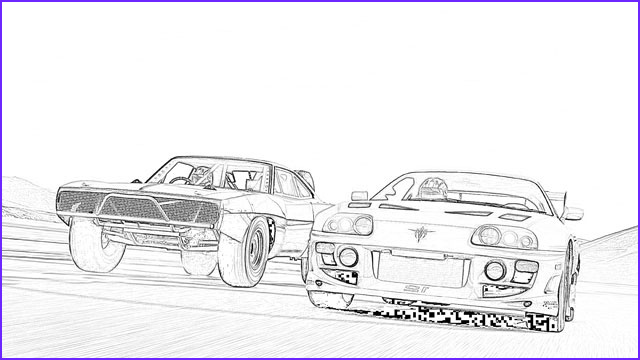 Fast and Furious Coloring Page Luxury Photography Movie Lovers Reviews