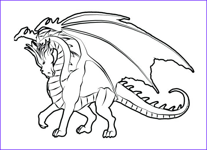 Fire Breathing Dragon Coloring Page Beautiful Gallery Fire Breathing Dragon Drawing at Getdrawings