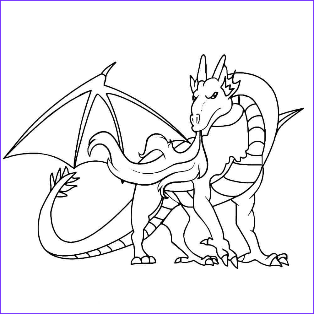 Fire Breathing Dragon Coloring Page Luxury Image 35 Free Printable Dragon Coloring Pages