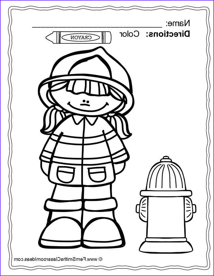 Fire Prevention Week Coloring Page Luxury Image Fire Safety Coloring Pages Dollar Deal 14 Pages Of Fire
