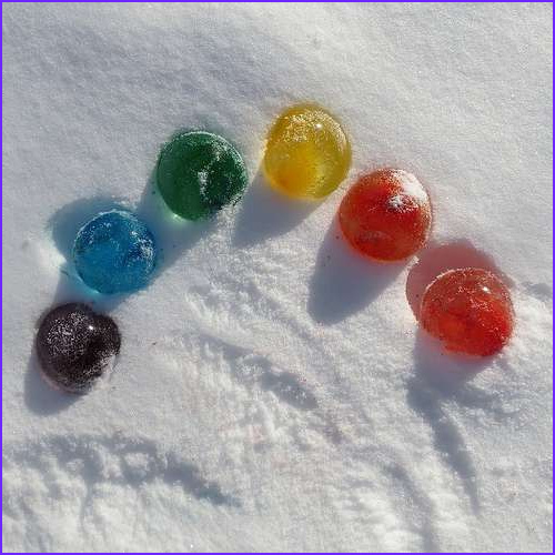 Food Coloring Water Balloons Cool Collection Snow Day Activities Outdoors Red Ted Art S Blog