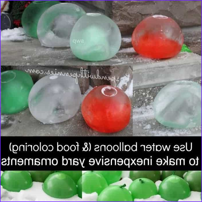 Food Coloring Water Balloons New Collection Frozen Water Balloon Yard ornaments Spend with Pennies