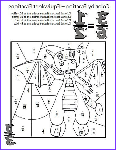 Fractions Coloring Sheet Best Of Photos Equivalent Fractions Worksheets Ese Coloring Sheets