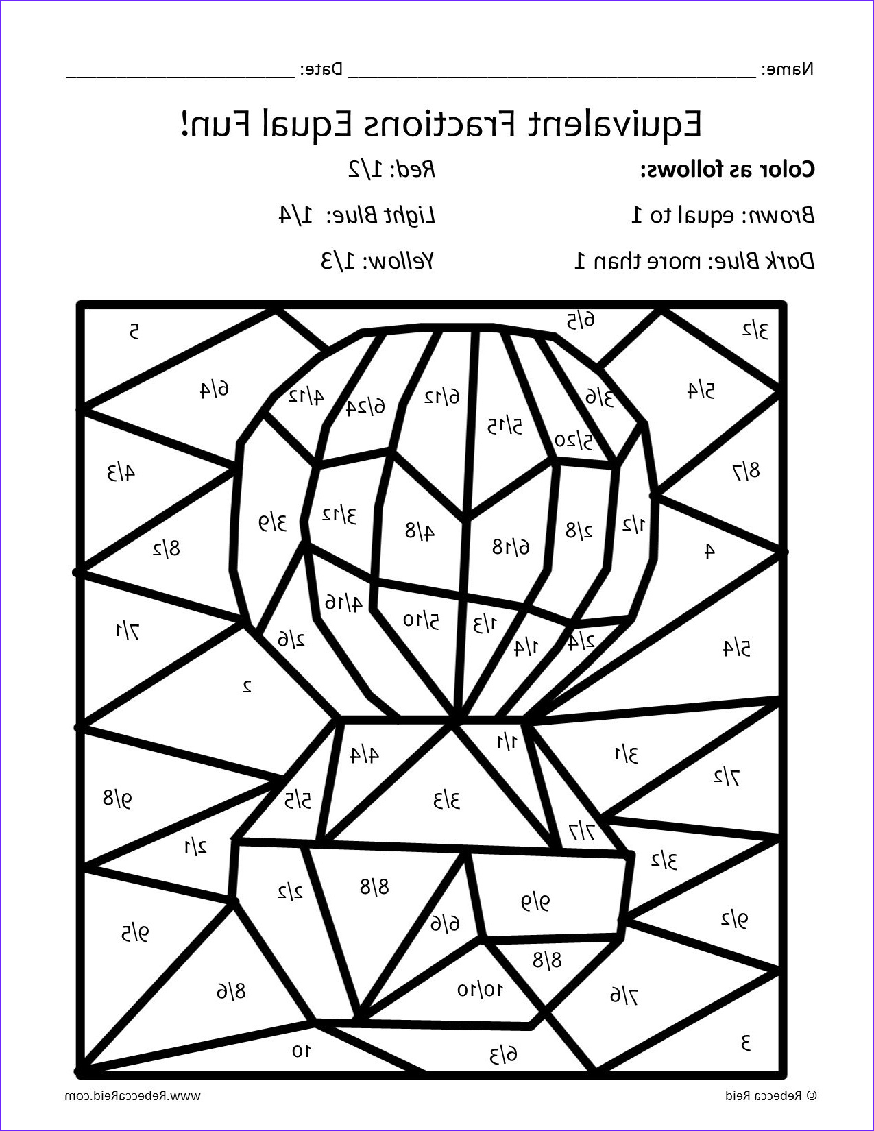 Fractions Coloring Sheet Inspirational Image Fraction Coloring Sheets Coloring Pages