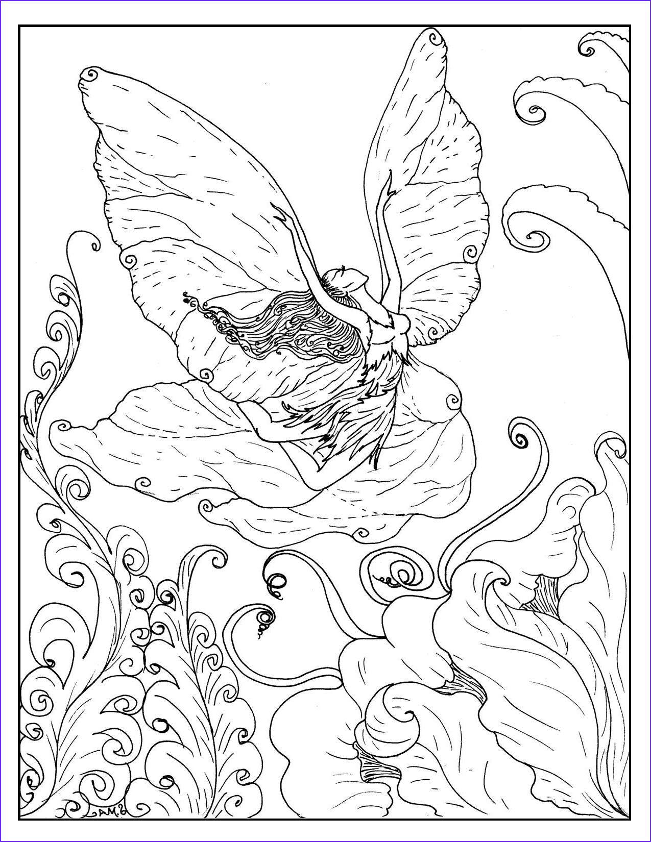 Free Fantasy Coloring Page New Image Fantasy Coloring Pages – S Mac S Place to Be