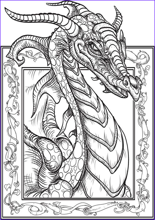 Free Fantasy Coloring Page New Photography 1391 Best Creative Haven Coloring Pages by Dover Images by