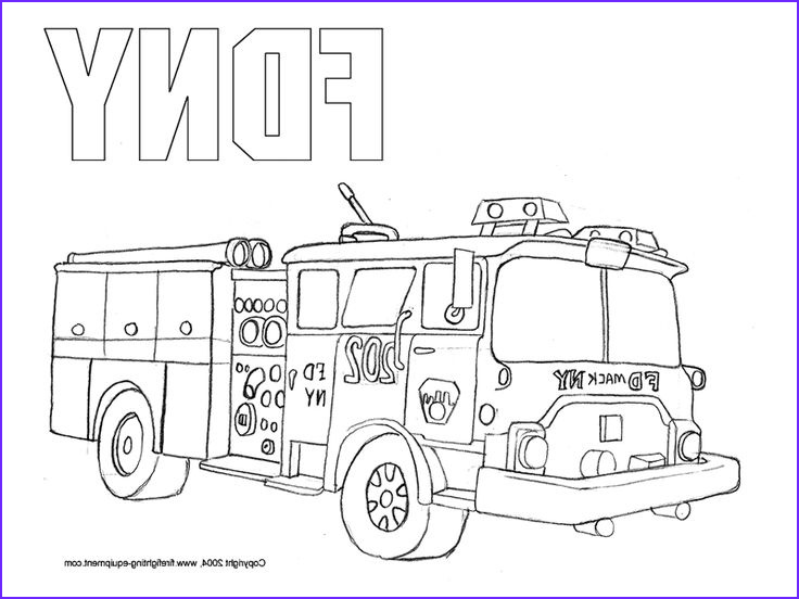Free Fire Truck Coloring Page Printable Luxury Photography Fdny Fire Truck Coloring Pages Free Printable Enjoy