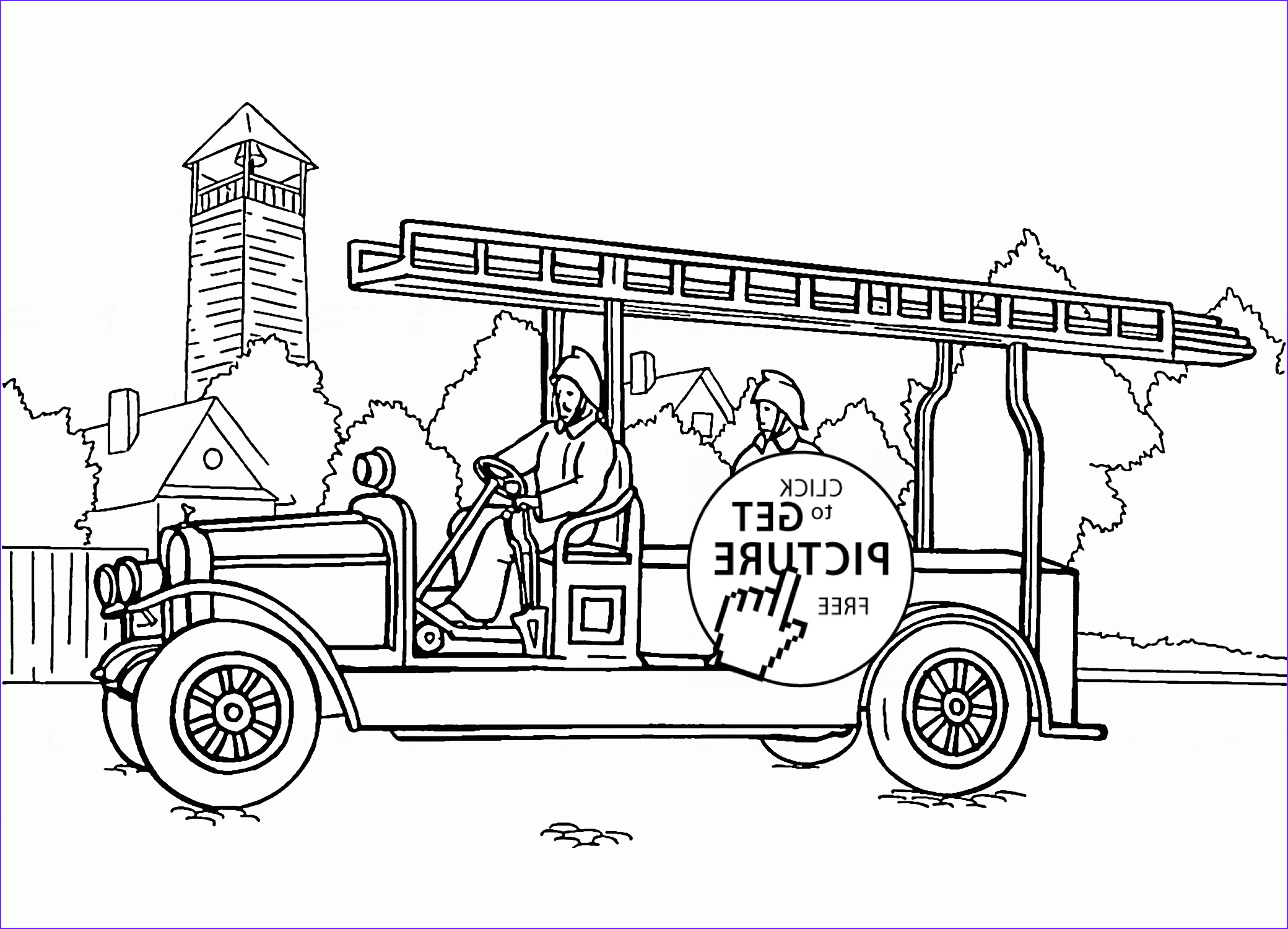 Free Fire Truck Coloring Page Printable Unique Photos Free Fire Truck Coloring Pages Printable for Preschool