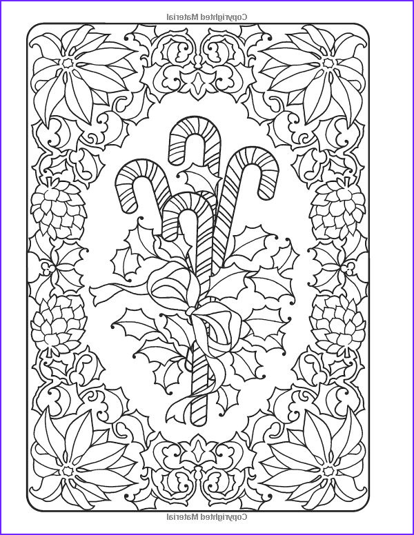 Free Holiday Coloring Page for Adults Unique Photos Creative Haven An Old Fashioned Christmas Coloring Book