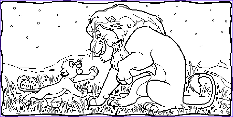 lion king simba coloring pages free printable for kids to pictures and sheets to color 25