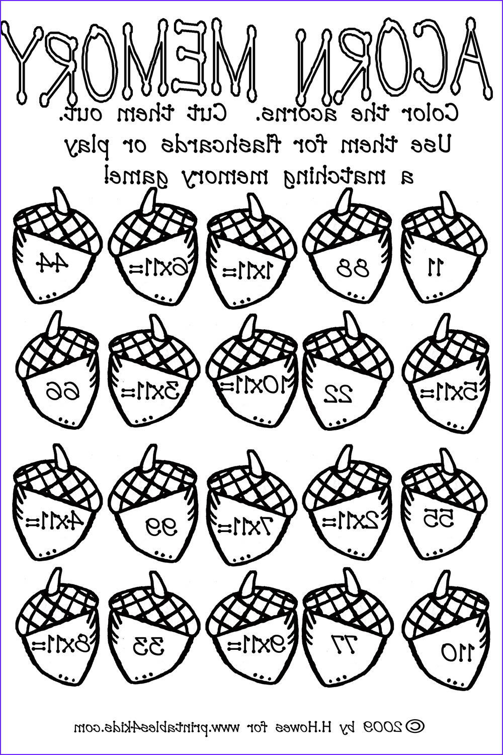 math coloring pages pdf