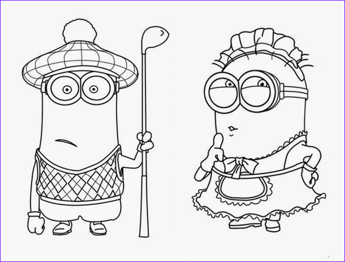 Free Minion Coloring Page New Images Related Cute Despicable Me Minion Coloring Pages Item